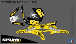 kit-déco-casque-Scorpion-VX-20-21-factory-two-yellow